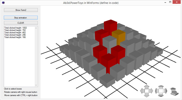 WPF 3D inside WinForms
