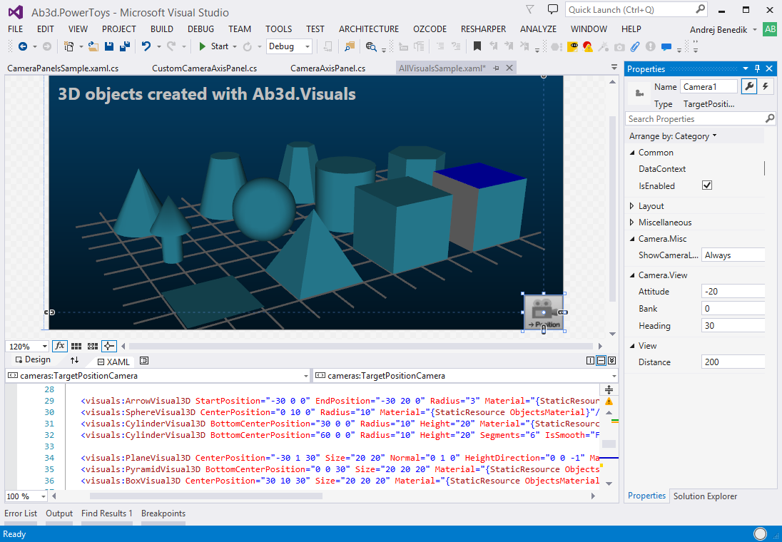 The ultimate  Net and WPF 3D graphics toolkit with many samples