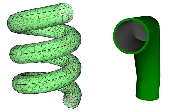 3D tube path in Ab3d.PowerToys library