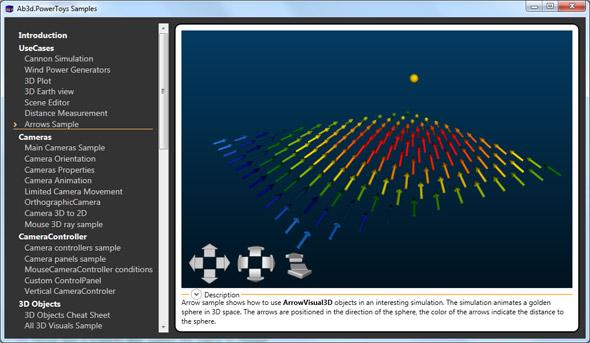 Arrows sample screenshot