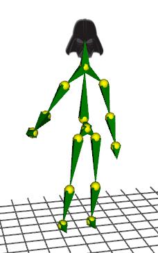 Ab3d.PowerToys Kinect sample